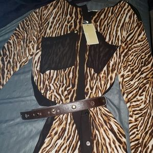 MICHAEL KORS .Dress/kimono BRAND NEW